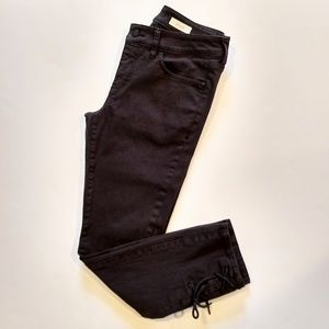 Pilcro Ankle Ties Jeans Size 27